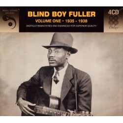 Blind Boy Fuller - Volume One 1935-1938 - 4CD digipack