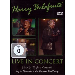 Harry Belafonte - Live In Concert - DVD