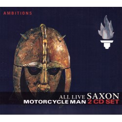 Saxon - Motorcycle Man - All Live - 2CD digipack