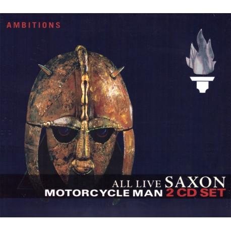 Saxon - Motorcycle Man - All Live - 2CD digipack