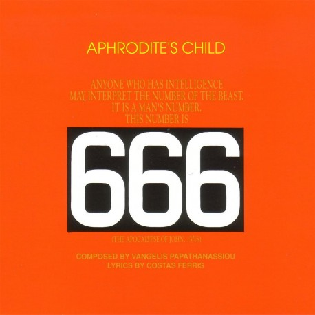 Aphrodite's Child - 666 - 2CD