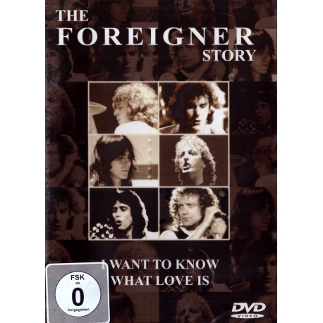 Foreigner - Foreigner Story - I Want To Know What Love - DVD