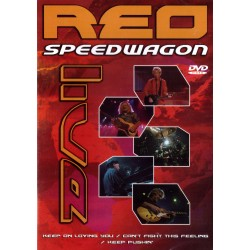 REO Speedwagon - Live In The USA 2000 - DVD