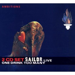 Sailor - One Drink Too Many - Live - 2CD digipack