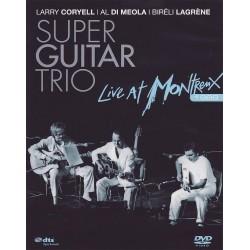 Larry Coryell / Al Di Meola / Bireli Lagrene - Super Guitar Trio - Live At Montreux 1989 - DVD