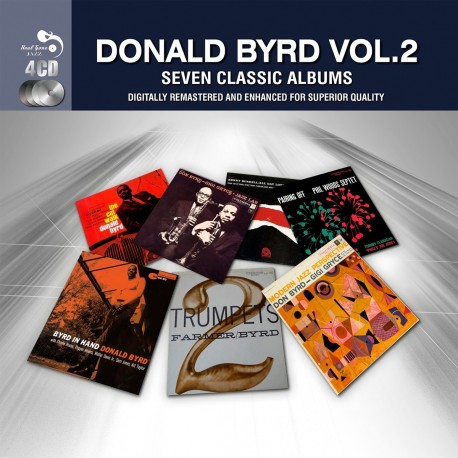 Donald Byrd - 7 Classic Albums - 4 CD