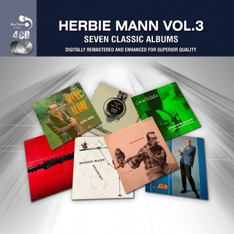 Herbie Mann - 7 Classic Albums Vol.3 - 4 CD
