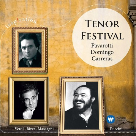 Pavarotti / Carreras / Doming - Tenor Festival - CD