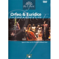 Cristoph Willibald Gluck - Orfeo And Euridice - DVD