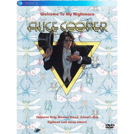 Alice Cooper - Welcome To My Nightmare- DVD