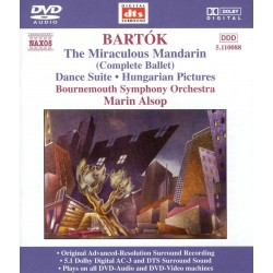 Bela Bartok - Miraculous Mandarin / Dance Suite / Hungarian Pictures - DVDA