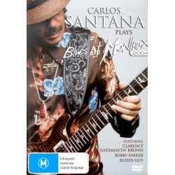 Carlos Santana - Plays Blues At Montreux- DVD