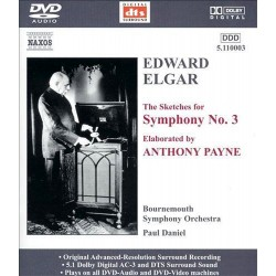 Edward Elgar - The Sketches for Symphony No. 3 - DVDA
