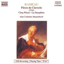 Jean-Philippe Rameau - Pieces de Clavecin / Cinq Pieces / La Dauphine - CD