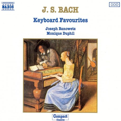 Johann Sebastian Bach - Keybord Favourites - CD