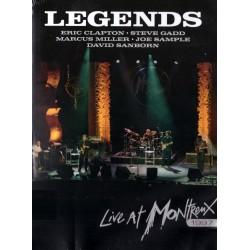 Eric Clapton, Steve Gadd, Marcus Miller, Joe Sample, David Sanborn - Legends Live In Montreux - DVD