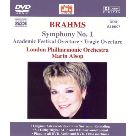 Johannes Brahms - Symphony No.1 / Academic Festival Overture / Tragic Overture- DVDA