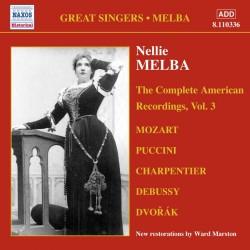 Nellie Melba - American Recordings Vol.3 - CD