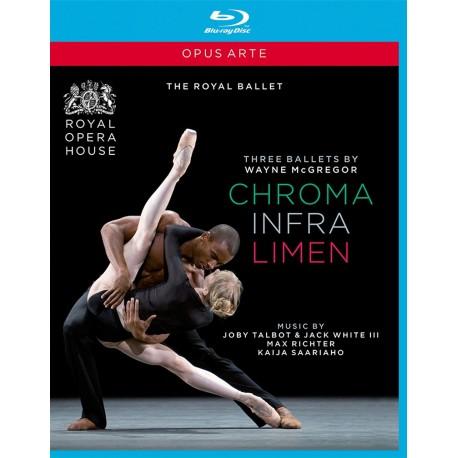 Wayne McGregor - Chroma / Infra / Limen - Blu-ray