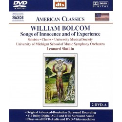 William Bolcom - Songs Of Innocence and of Experience - 2DVDA