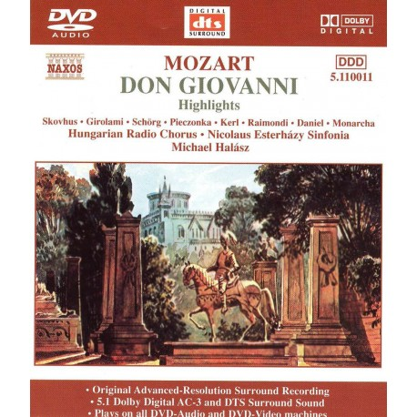 Wolfgang Amadeus Mozart - Don Giovanni - DVDA
