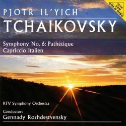 Pyotr Ilyich Tchaikovsky - Symphony No.6 Pathétique / Capriccio Italien - SBM Gold CD