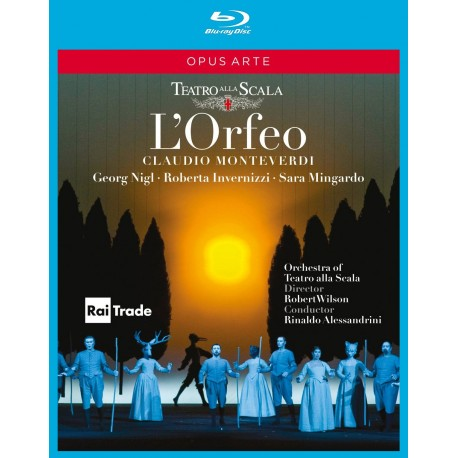 Claudio Monteverdi - L'orfeo - Blu-ray
