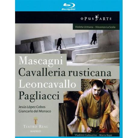 Pietro Mascagni / Ruggero Leoncavallo - Cavalleria Rusticana / Pagliacci - Blu-ray