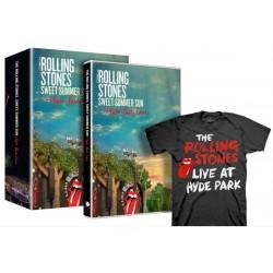 Rolling Stones - Sweet Summer Sun - Hyde Park Live (T-Shirt+DVD Box Set) - DVD