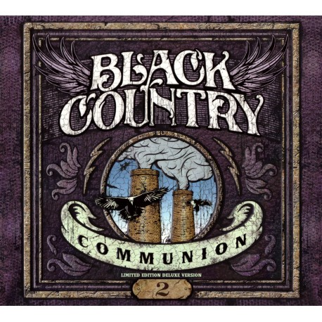 Black Country Communion - 2 - Ltd. Embossed CD digipack