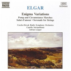 Edward Elgar - Enigma Variations - CD