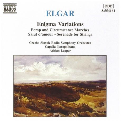 Edward Elgar - Enigma Variations - CD