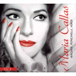 Maria Callas - Wagner, Ponchielli, Verdi - CD digipack