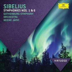 Jean Sibelius - Symphonies Nos 1 & 6 - CD