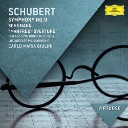 Franz Schubert / Robert Schumann - Symphony No.9 / Manfred Overture - CD