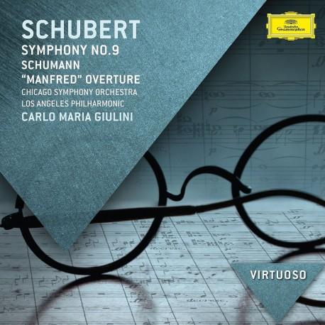 Franz Schubert / Robert Schumann - Symphony No.9/Manfred Overture - CD