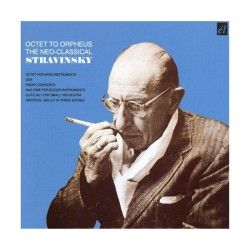 Igor Stravinsky - Octet To Orpheus - CD