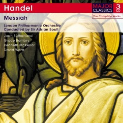 George Frideric Handel - Messiah - 3CD Digipack