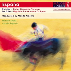 Joaquín Rodrigo / Manuel De Falla - Espana:Guitar Concerto - 2CD