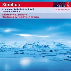 Jean Sibelius - Symphonies No.2,4 & 5 / Tapiola / Finlandia - 2CD