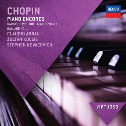 Frederic Chopin - Piano Encores - CD