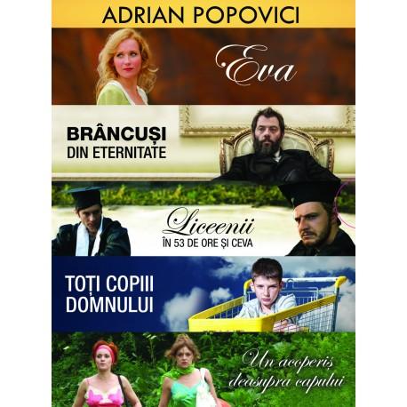 Adrian Popovici - Colecţie 5 filme pe DVD - 5DVD