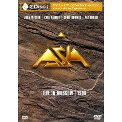 Asia - Live In Moscow 1990 - DVD+CD