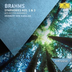 Johannes Brahms - Symphonies Nos.1 & 3 - CD