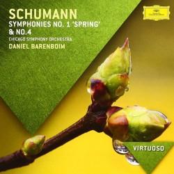 """Robert Schumann - Symphonies No.1 """"Spring"""" & No.4 - CD"""