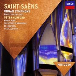 Camille Saint-Saëns - Organ Symphony / Piano Concerto No.2 - CD