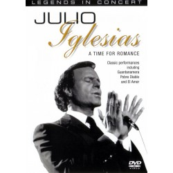 Julio Iglesias - A Time For Romance - DVD