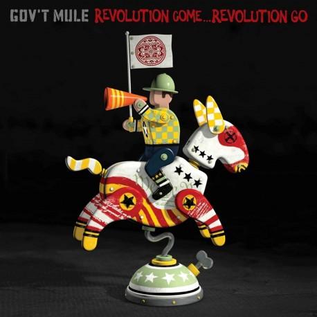 Gov't Mule – Revolution Come... Revolution Go - CD digipack