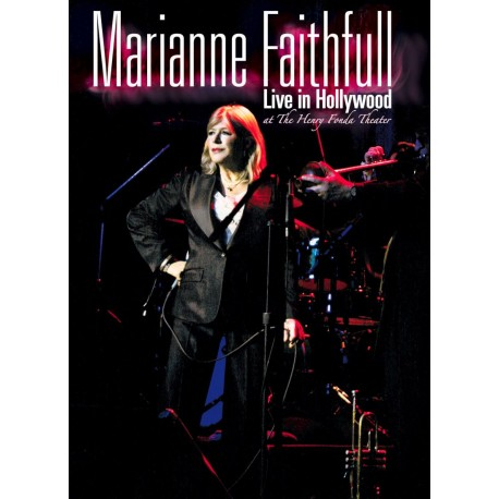 Marianne Faithfull - Live In Hollywood 2005 - DVD+CD