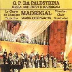 Madrigal - G.P. Da Palestrina - Missa, Mottetti e Madrigali - CD